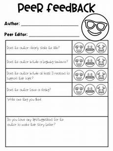 worksheets for kindergarten in 18604 peer editing form for writing by henry tpt