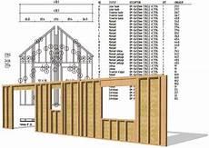 plan maison ossature bois plan de panneaux ossature bois en 2019 ossature bois