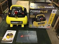 powerplus powx1721 kompressor test