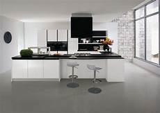 cuisine noir et blanc cuisine blanche