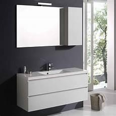 mobile specchio per bagno mobile bagno manhattan con cassetti da 120 cm in bianco