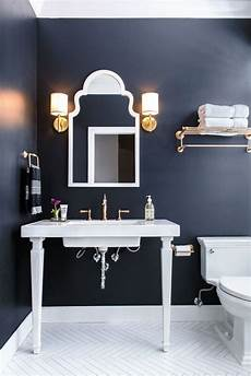 Bathroom Ideas Navy navy bathroom with patterned flooring cool bathrooms