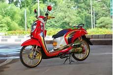 Variasi Motor Scoopy by Dunia Modifikasi 20 Modifikasi Motor Honda Scoopy Keren