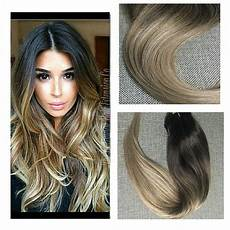 Shine Balayage 8a Clip In Human Hair Extensions
