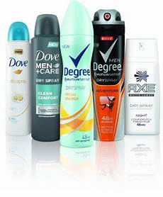 All Spray Brand unilever spray antiperspirants change the as most