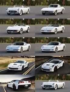 evolution of cars time 2014 chevrolet corvette stingray animated evolution in