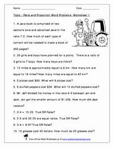 word problem ratio worksheets 11123 ratio and proportion word problems worksheet 1 answers fill printable fillable blank
