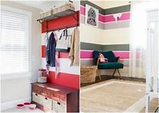 Wand Streichen Muster Ideen - wand streichen ideen streifen horizontal bunte farben
