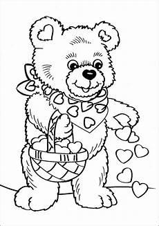 Malvorlagen Info Kostenlos Malvorlage Teddybar Zum Ausdrucken Tippsvorlage Info