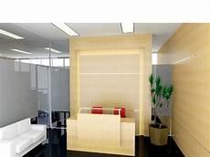 Meja Resepsionis Dan Backdrop Panel Di Banjarmasin