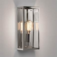 astro messina 160 polished nickel outdoor wall light