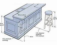 Kitchen Island With Sink Measurements by Building A Breakfast Bar Dimensions Commercial Spaces