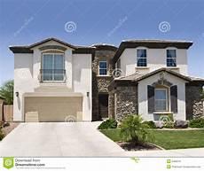 maison du sud ouest photo stock image du cement brun