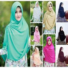 Jilbab Syar I Khimar Miska Model Jilbab Terbaru 2017 Bahan
