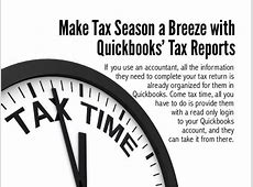 using quickbooks for taxes