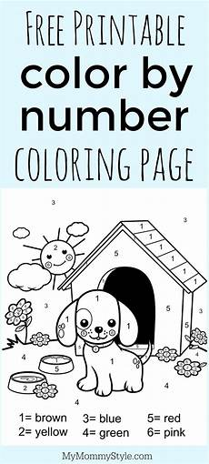 free color by number coloring pages to print 18111 color by number coloring page free printable my style