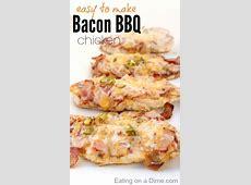 BBQ bacon chicken   easy chicken recipes   easy chicken