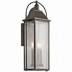 kichler harbor row 28 3 4 quot high bronze outdoor wall light outdoor wall lantern outdoor walls