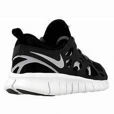 nike free run 2 gs 443742 021 black en distance eu