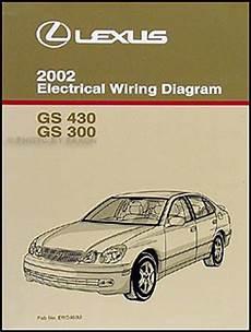 car repair manuals download 2002 lexus gs head up display base sedan 4 door