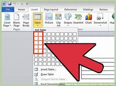 How To Make A Business How To Make Business Cards In Microsoft Word With Pictures