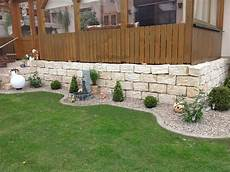 Sandstein Mauersteine Gartenmauer Steine 30 Stk Gespitzt