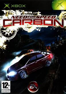 need for speed carbon 2006 xbox box cover mobygames