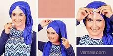 Cara Memakai Jilbab Pashmina Untuk Ke Pesta Model Metalik