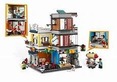 lego 174 creator 31097 stadthaus mit zoohandlung cafe bei