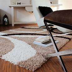 teppich muster teppich hochflor shaggy linien muster teppich de