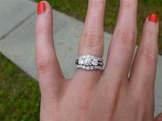 by paula three stone wedding rings three stone