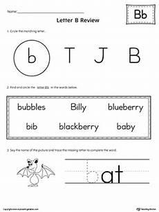 learning the letter b worksheets 24027 kindergarten printable worksheets myteachingstation