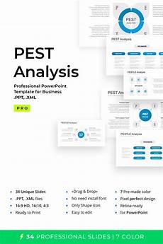 pest pestel pestle for powerpoint template 67640