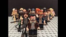 lego the walking dead lego the walking dead custom painted minifigures pt 2