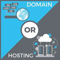 what is the difference between a domain and hosting tom co