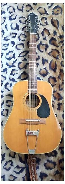 16 string guitar vintage japanese 12 string acoustic guitar w reverb