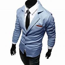 Veste Croisee Homme Blazer Costume Taille Ajustee Fitted