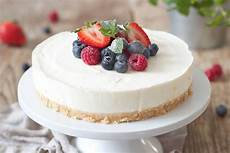 philadelphia torte rezept torte ohne backen kuchen