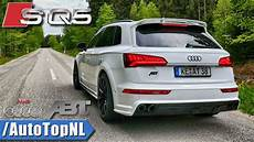 audi sq5 abt sound exhaust revs onboard by