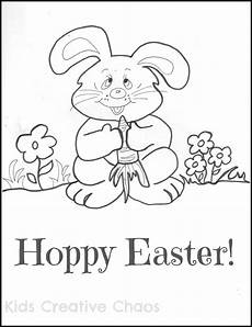 easter bunny coloring page printable for adventures