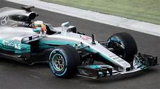 Lewis Hamilton Mercedes S New Car Given Debut At