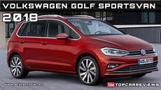 2018 volkswagen golf sportsvan review rendered price specs