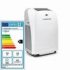 climatiseur portable silencieux trotec climatiseur local climatiseur monobloc pac 2600 s fr bricolage