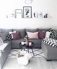schwarz wei 223 lila for the home in 2019 wohnzimmer