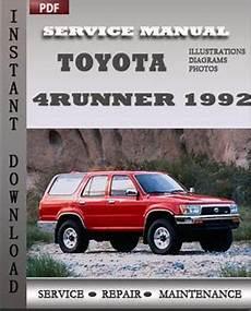 small engine maintenance and repair 1992 toyota 4runner lane departure warning toyota 4runner 1992 service manual download repair service manual pdf