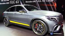 2018 mercedes amg glc 63 s coupe exterior and interior