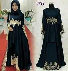 Setelan Baju Gamis Muslimah Pesta Wanita Model