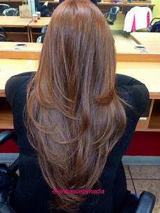 V Shape Hairstyle With Layers