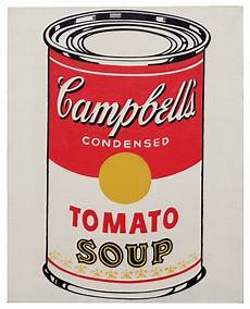 Andy Warhol 1928 1987 Cbell S Soup Can Tomato