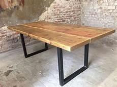 Esstisch Hagen Ger 252 Stbohlen Holz Tisch Recycled Upcycle